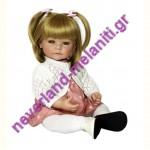 ADORA Κούκλα Amy Winter outfit με δύο φορέματα