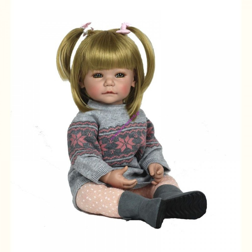 "ADORA Κούκλα ""Amy Winter gray"" με δύο φορέματα"