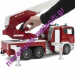 BRUDER  Πυροσβεστική Scania με καλάθι