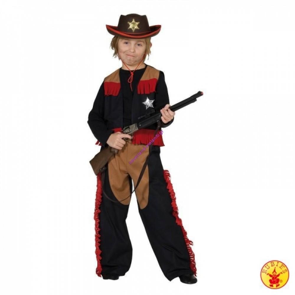 Στολή για αγόρια Cowboy 3-9 ετών