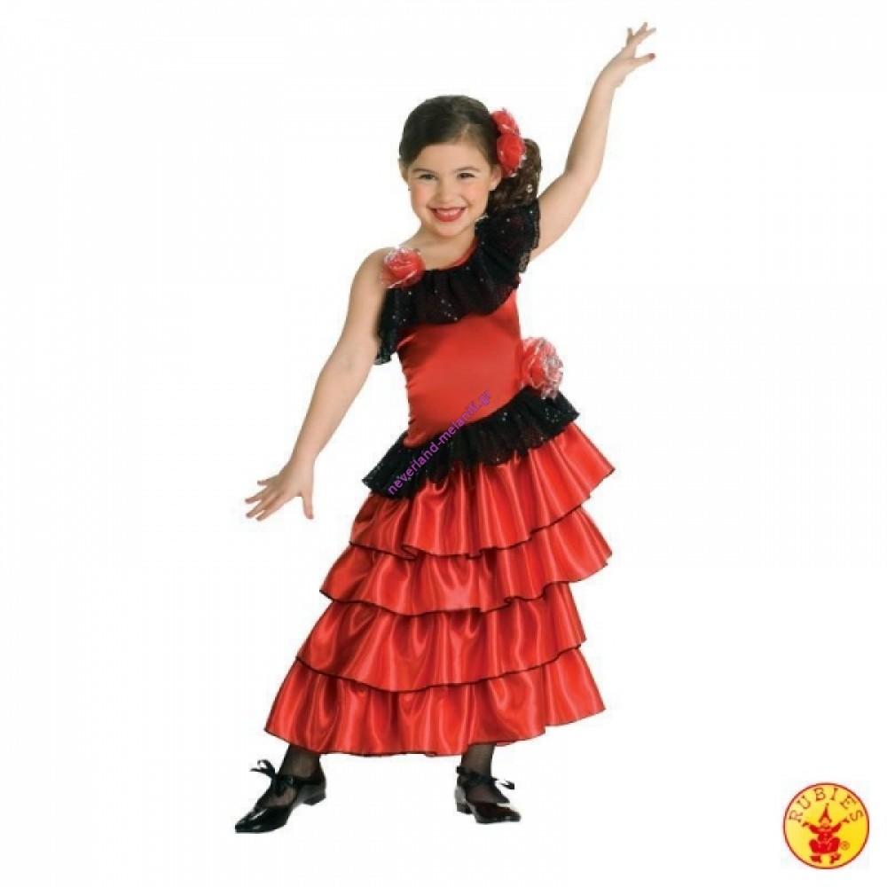 Στολή για κορίτσια Σπανιόλα 3-7 ετών