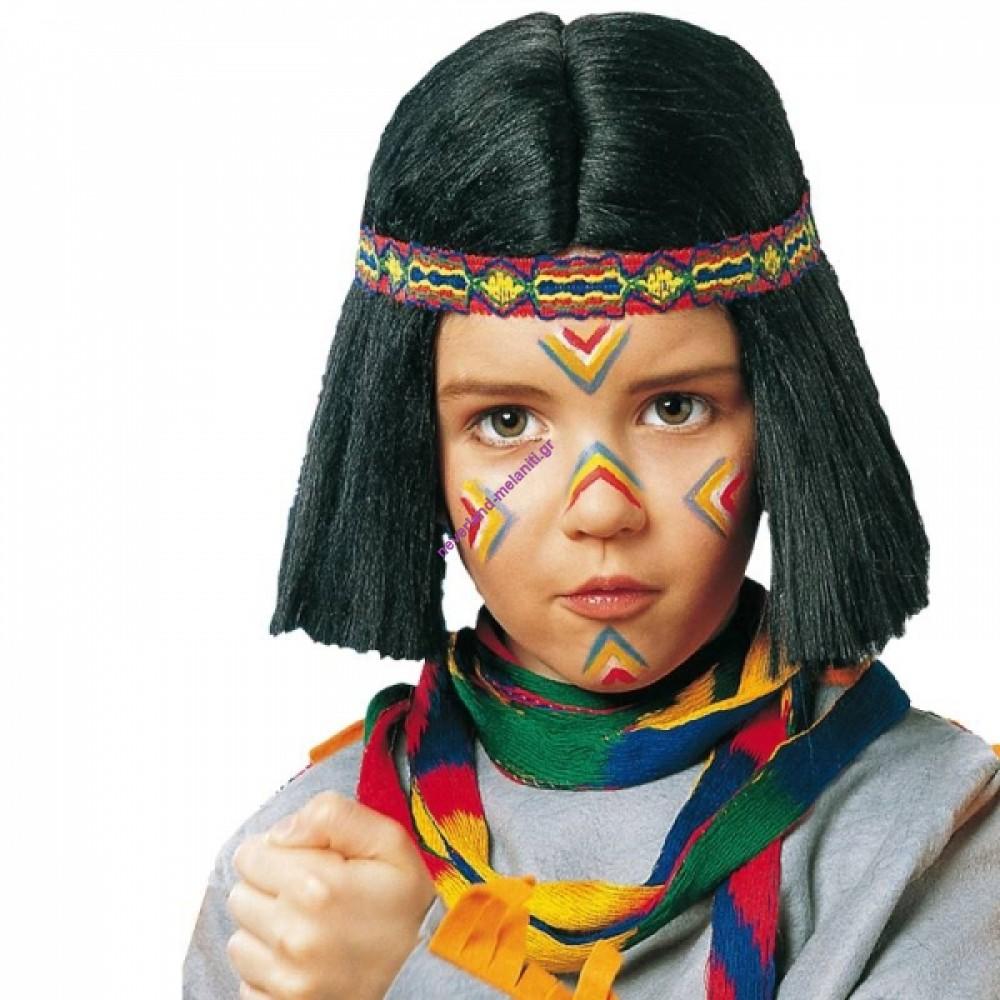 Περούκα ινδιάνικη, παιδική