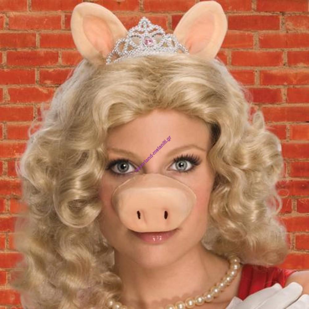 Περούκα Miss Piggy- The Muppets