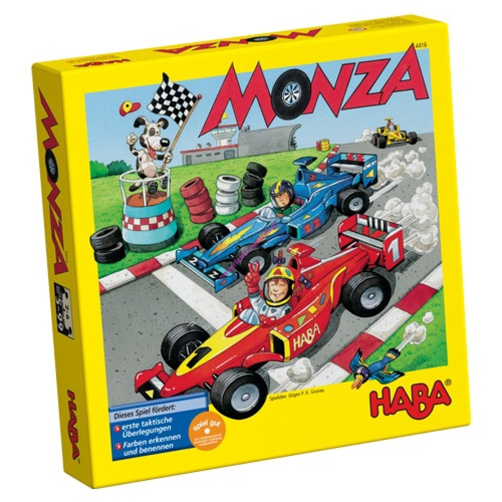 Haba Επιτραπέζιο παιχνίδι 'Φόρμουλες Monza'