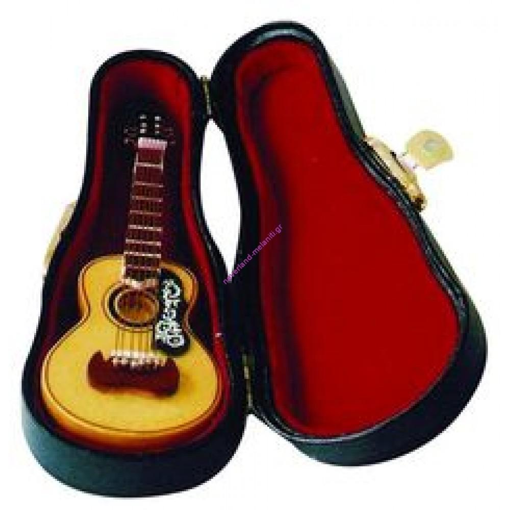 Κιθάρα μινιατούρα 8x 3x 1.5cm 9/152- Spanish Guitar