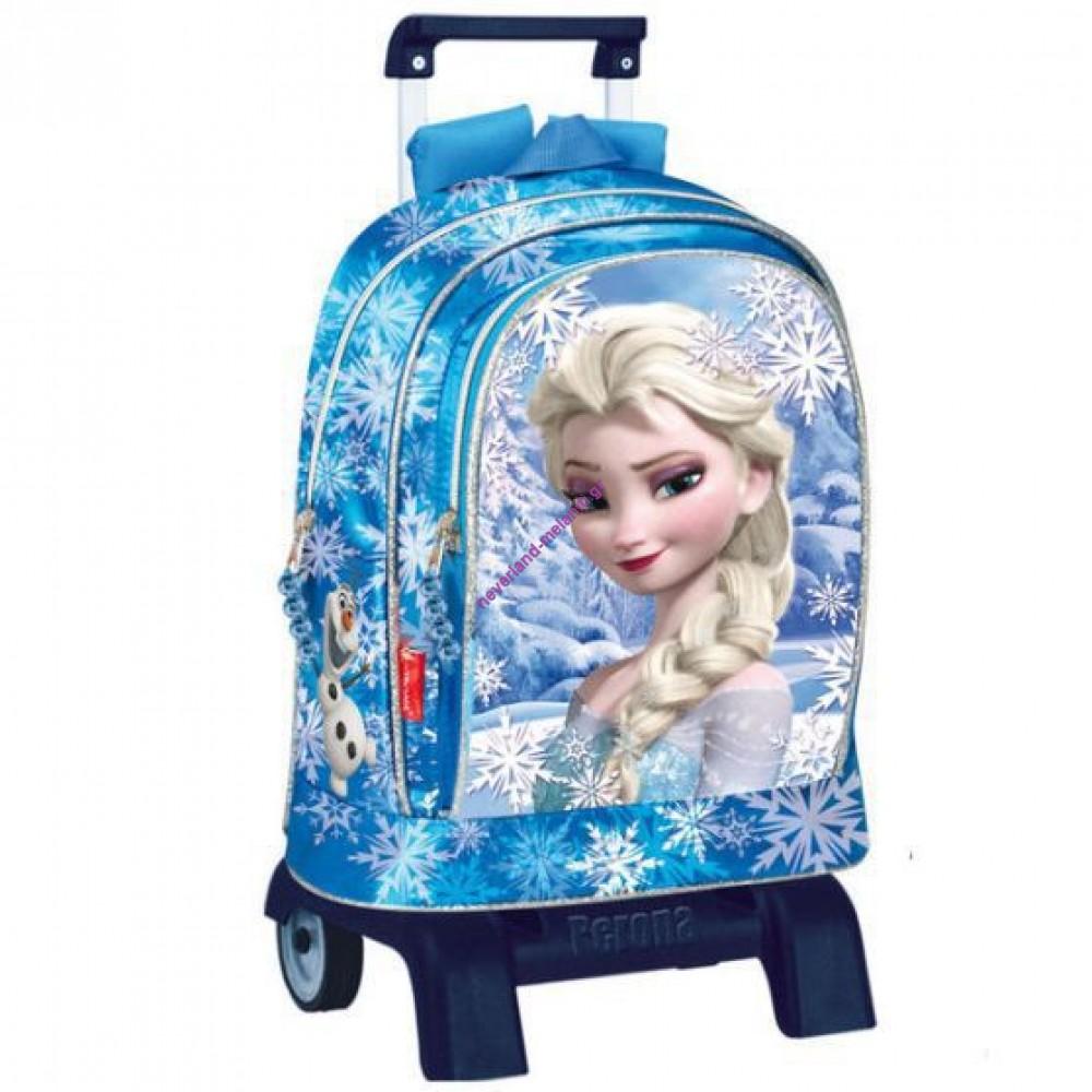 Montichelvo Τσάντα τρόλεϊ παιδική Frozen