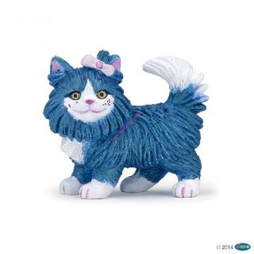 Γάτα μπλε Misty πλαστικό ζώο 5 εκ