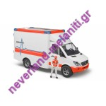 BRUDER Ασθενοφόρο με οδηγό