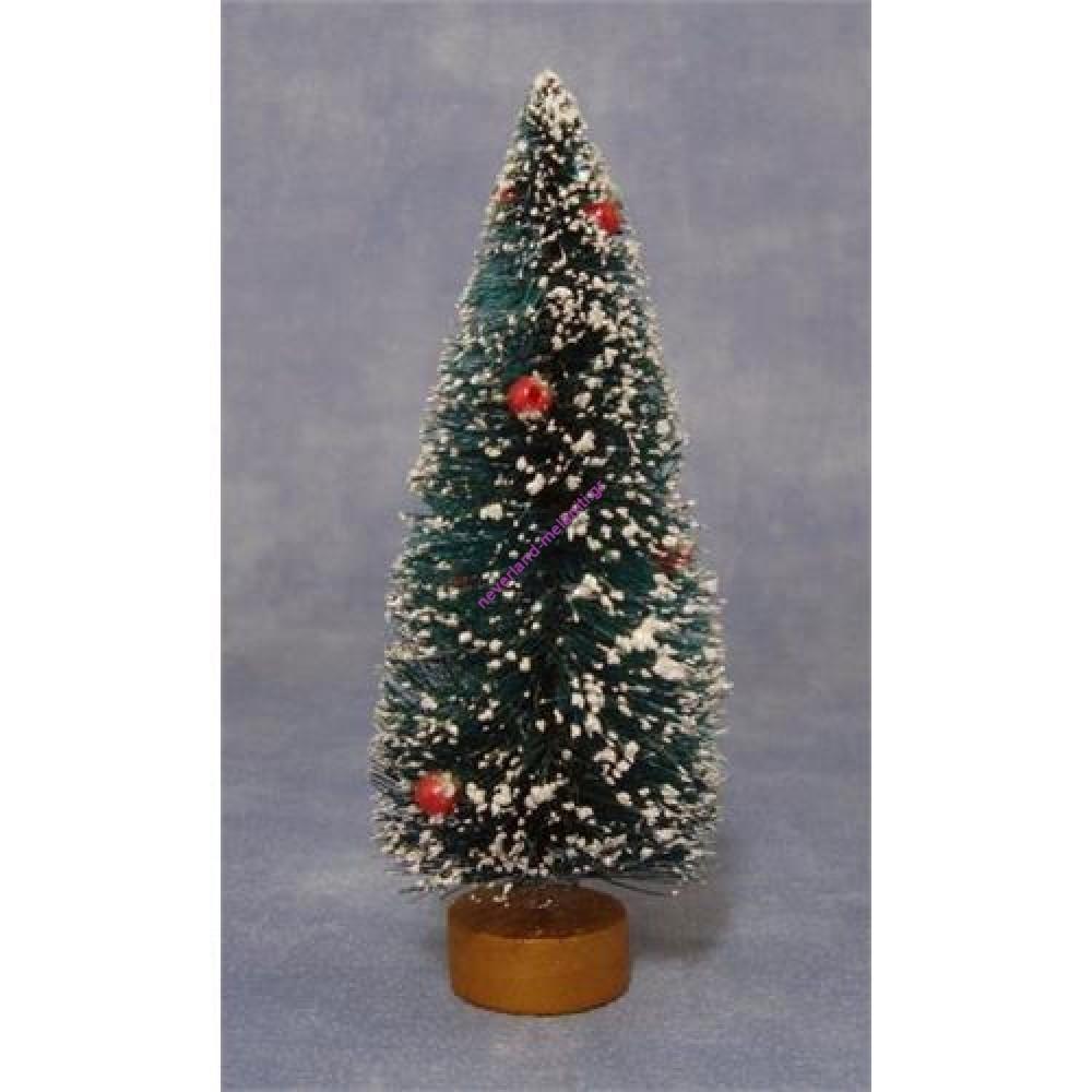 Έλατο χιονισμένο μινιατούρα 12cm D2049- Xmas Tree