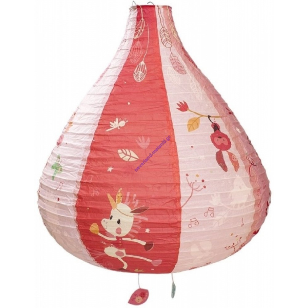 Lilliputiens Παιδικό φωτιστικό οροφής Αερόστατο Λουίζ