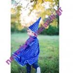 Κάπα Μπλε με καπέλο 'Μαγος' 3-6 ετών