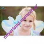 Στολή για κορίτσια 'Πεταλούδα' με φτερά 5-6 ετών