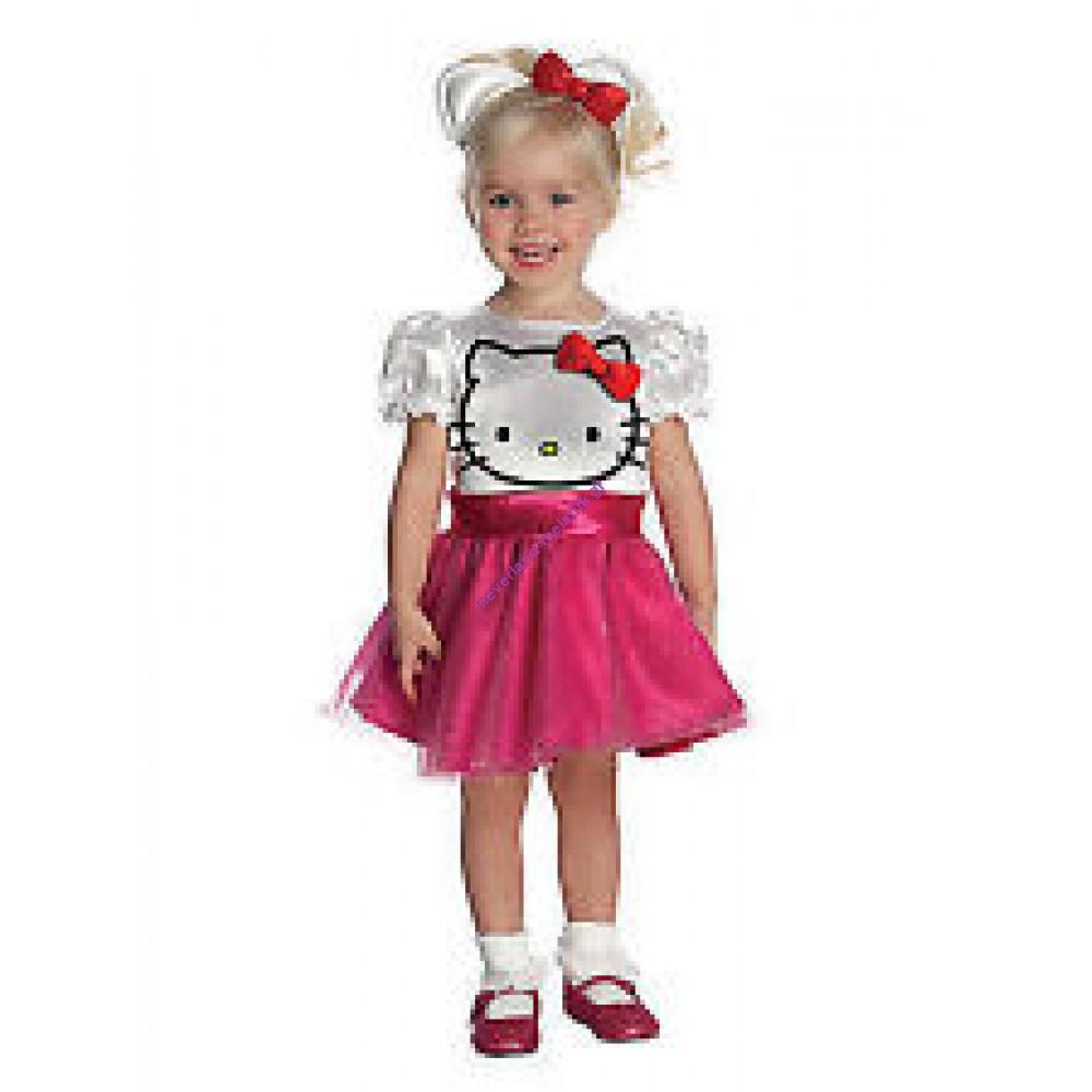 Στολή Hello Kitty ροζ 1-2 ετών