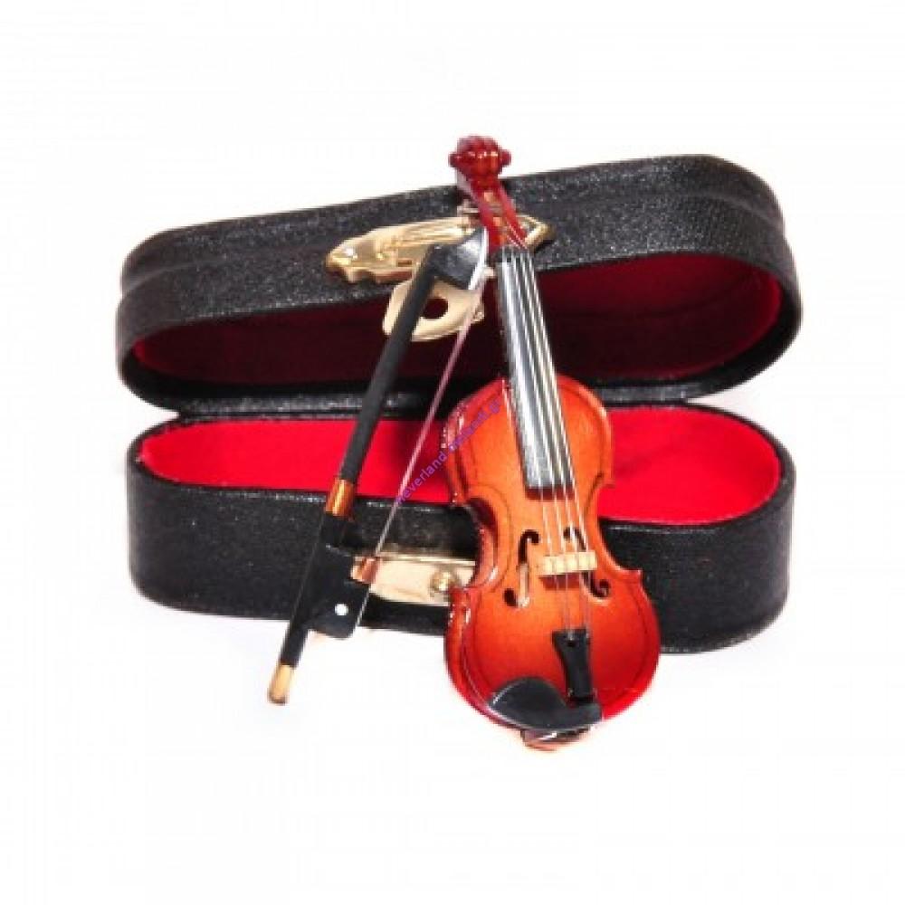Βιολί μινιατούρα 7 x 2.5 x 1.5cm 9/149 - Violin