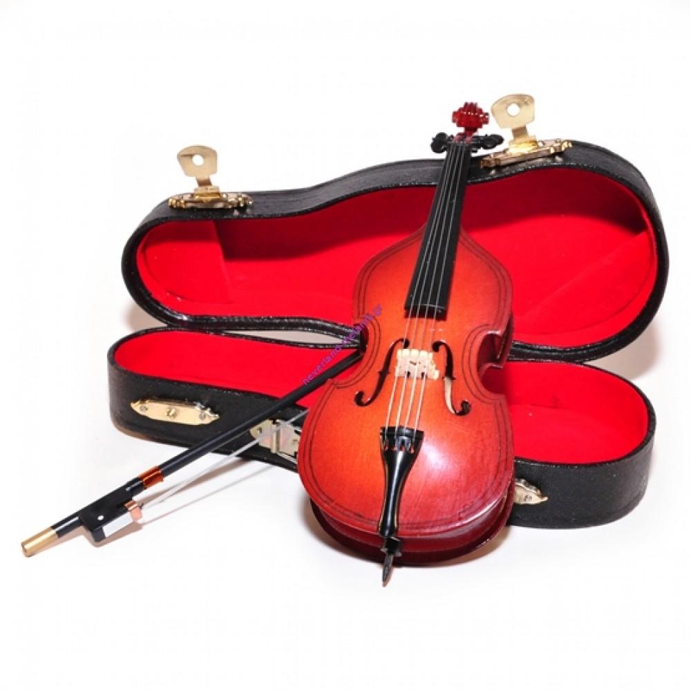 Κοντραμπάσο μινιατούρα 15x 6x 3.5cm 9/151 - Double Bass