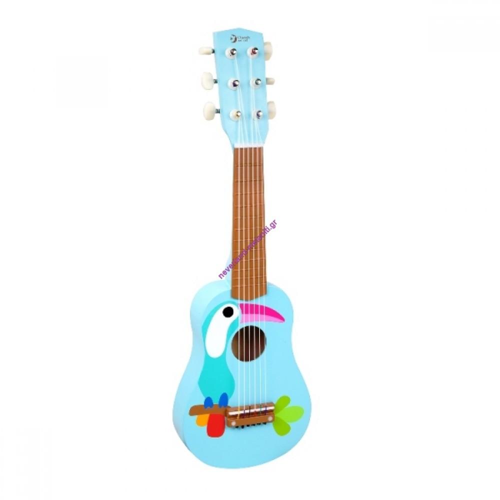 Κιθάρα παιδική ξύλινη Τουκάν