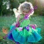 Στολή για κορίτσια 'Νεράιδα με φτερά' 3-4 ετών