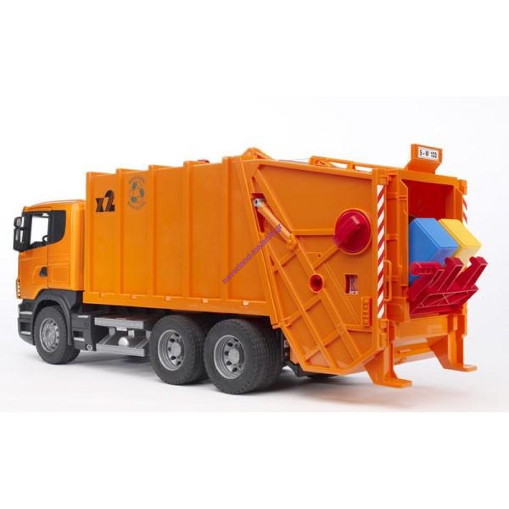 BRUDER Απορριμματοφόρο Scania
