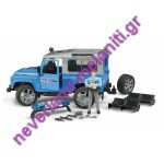 BRUDER  Land Rover Αστυνομίας με αστυνομικό