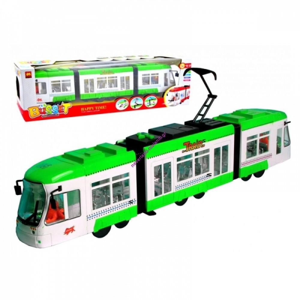 Τραμ με κίνηση, ήχους και φώτα