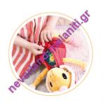 Lilliputiens Καμηλοπαρδάλη Zia μαθαίνει να ντύνεται