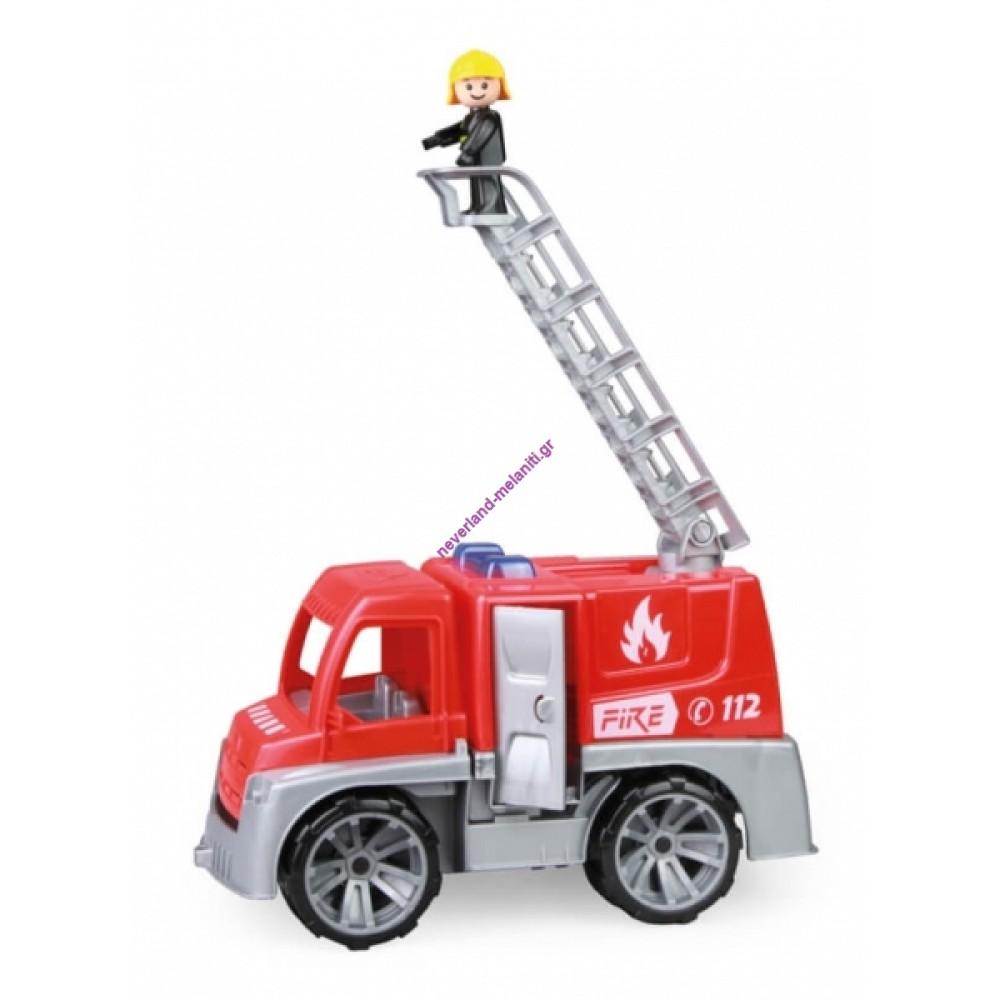 Όχημα Πυροσβευστικής με πυροσβέστη