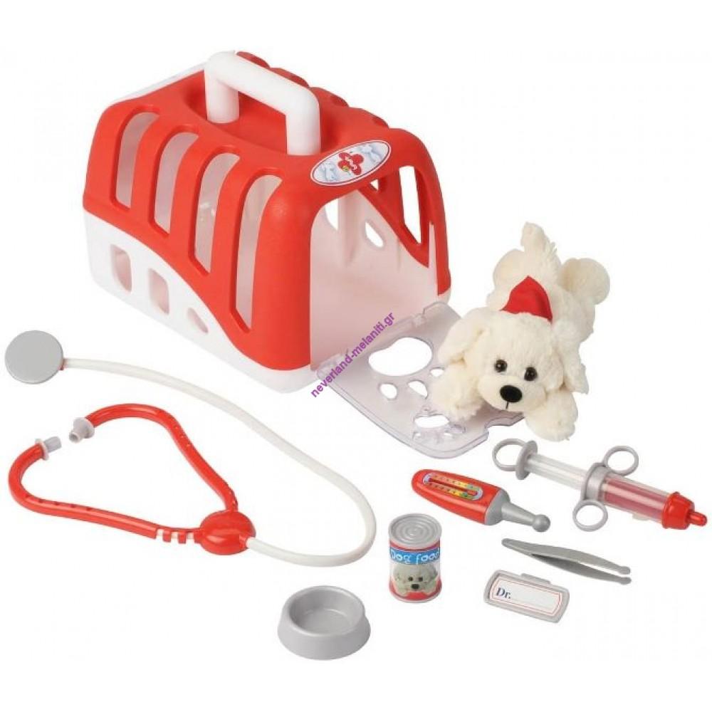 Βαλιτσάκι γιατρού με σκυλάκι
