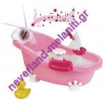 Μπανιέρα με αληθινό ντους Princess Coralie