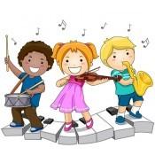 Μουσικά παιδικά όργανα, μουσικά παιχνίδια